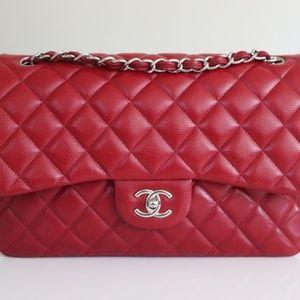 ❤️ Chanel Jumbo Caviar Famous 12A Lipstick 💄 Red